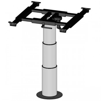 Heftafel met glijdende tafelblad frame