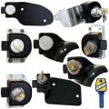 HEOSafe Sloten tegen diefstal voor de deuren van de stuurcabine Fiat, Renault, MB Sprinter of Ford