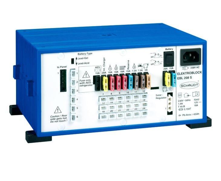 EBL 208 + Paneel LT453 Schaudt Elektroblock