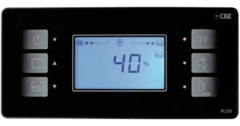 """PC210 Microprocessor gestuurde systeem met 2,9"""" LCD-display"""