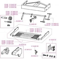 Omni-Step 12V single staal v2003 parts