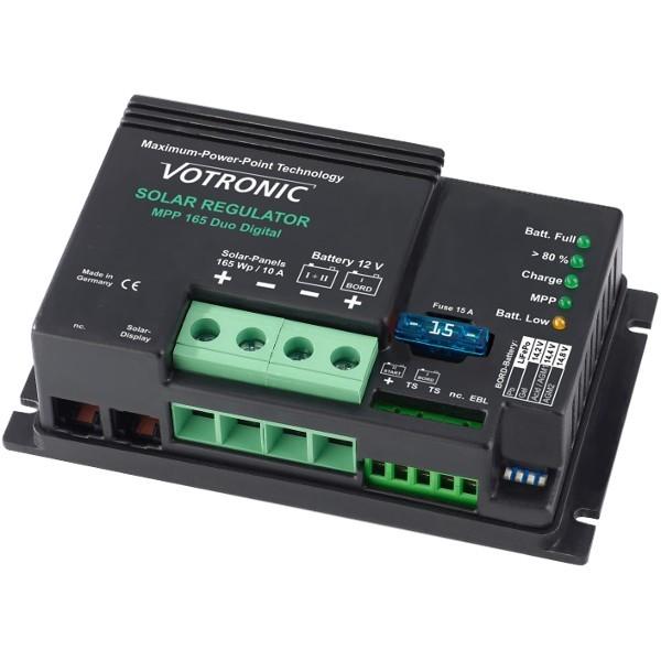 Solar lader Votronic MPP 165 - 250 - 350 - 430 Duo Digitaal