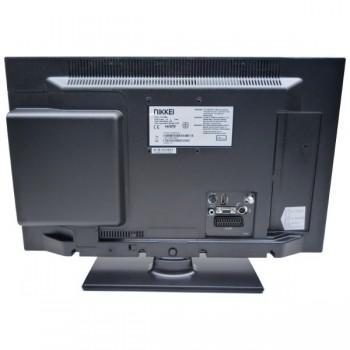 NIKKEI MOBILE LED TV/DVD COMBI 22 INCH met DVB-T/C en S2 Tuner en Fastscan 12V