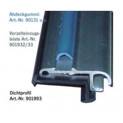 Voortent-intrekrichel aluminium 2m, 27x11mm