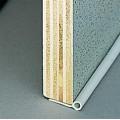 Afdichtrubber zilver Rond profiel Ø 5 mm, 5 m lang
