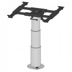 Heftafel met glijdende tafelblad frame en 360° draaibaar