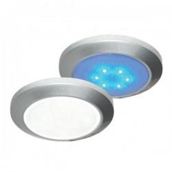 LED 12V, 2,8W, Slim Down Light, D: 69mm, H: 10mm, met
