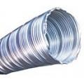 Metalen pijp Ø 50 voor uitlaatgassen Standaard lengte: 1 m