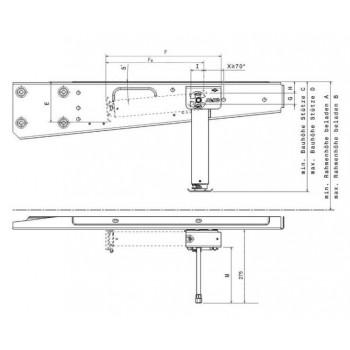 AL-KO CLICKFIX-UITDRAAISTEUNEN mechanisch