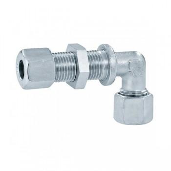 Knelkoppelingen Recht Gas 8mm of 10mm Staal