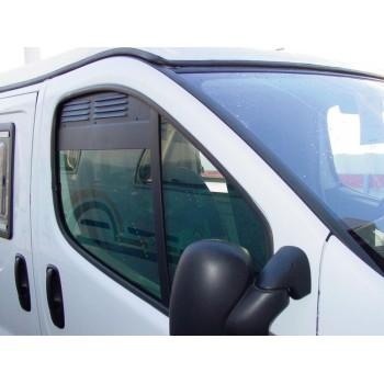 ventilatieroosters voor cabinedeuren van Renault Trafic, Opel Vivaro, Nissan Primastar tot Bj.2014