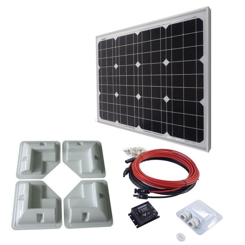 Solar set 50Wp of 2 x 50Wp