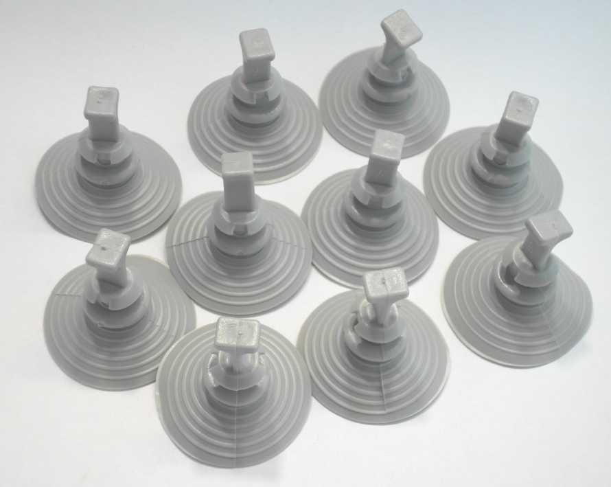 Zuignappen 40 mm voor thermo matten camper