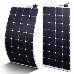 Ultra Flexibele High Performance zonnepanelen 80 tot 135 watt., 8m kabel