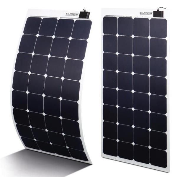 Ultra Flexibele High Performance zonnepanelen 80 tot 135 watt.