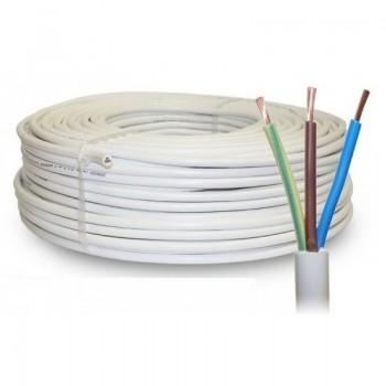 VMVL kabel 3X1,5 mm² wit per meter