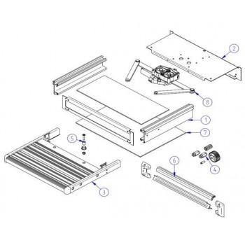 Thule SLIDE-OUT STEP 12V Parts