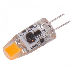 G4-COB Dimbare LED lamp AC/DC 12V 1W Silicone