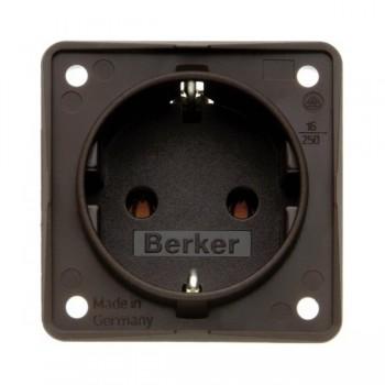 Berker INTEGRO 230V stekkerdozen inbouwdoos