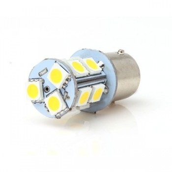 LED BA15S 1,2W vergelijkbaar met 10W