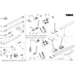 Thule Sport G2 & Elite G2 - common parts