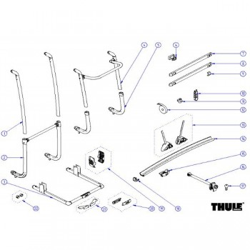 Thule Excellent common parts - LV - SV