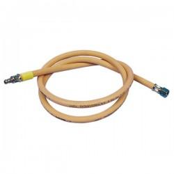 Gasslang voor gascontactdoos 150cm of 300cm lang