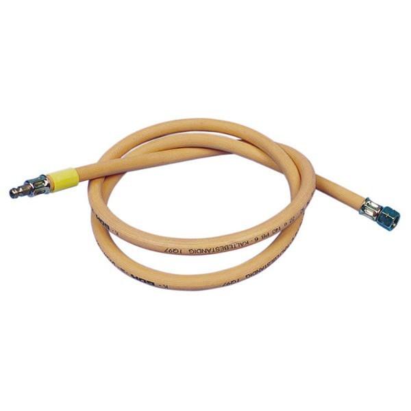 Gasslang voor gascontactdoos 150, 300 of 500cm lang