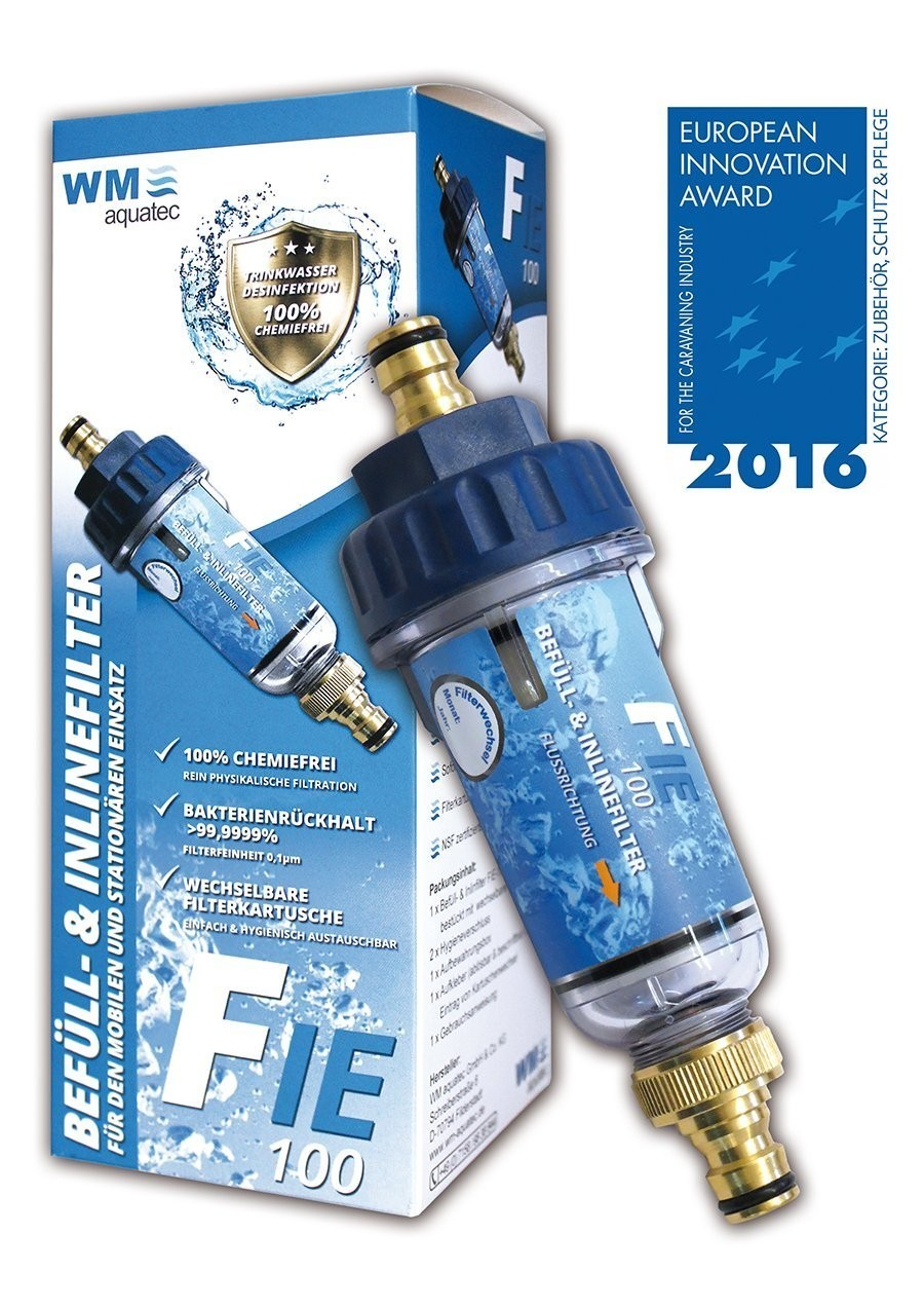 Vul- en inline filter, watersterilisatie