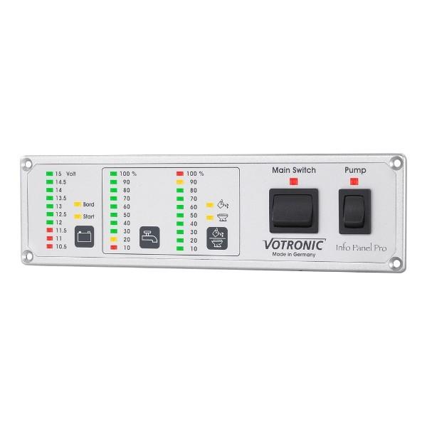 Votronic Info Panel Pro 12V of 24V