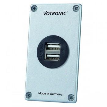 Votronic USB-opladerpaneel S 12V / 24V