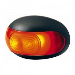 Hella LED-achtermarkering opbouw lamp rood, 12V