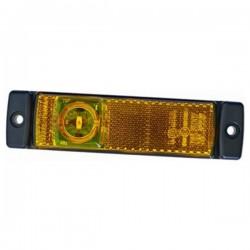 Hella LED zijmarkering 12V 0,5 W Verticaal / Horizontaal