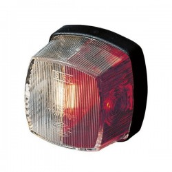 Hella Contourlamp C5W rood/wit 62 x 62 mm