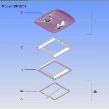 MPK Vergrendelingsset t.b.v. Model 28/29