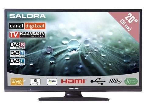 Salora 22- 24LED9109 DVB-C/T/S-S2 CD / Joyne 12Volt