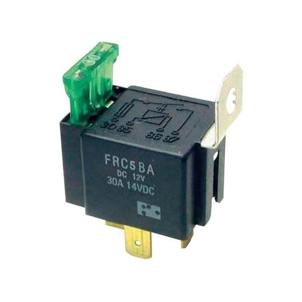 Relais 12 V/DC 30 A 1x maak contact