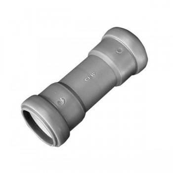 Verbindingsmof voor pijp 28 mm, met afdichtingen
