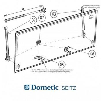 Dometic SEITZ S3 - S4 raamvergrendeling links of rechts