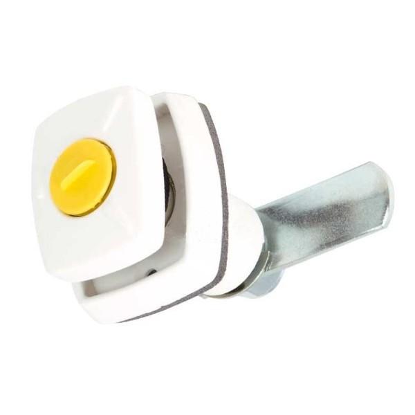 Push-lock voor HSC cilinders in wit of lichtgrijs