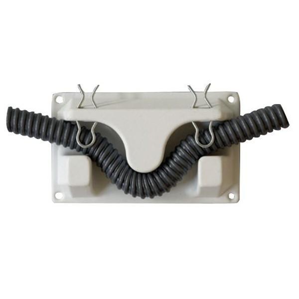 Waterslot wandhouder voor spiraal slang