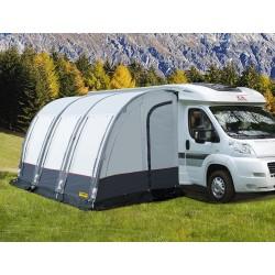 Opblaasbare tent voor campers CASA AIR, lichtgrijs / donkergrijs, inclusief luchtpomp
