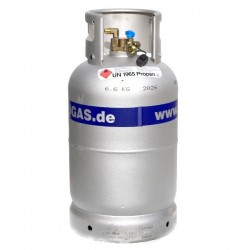 LPG-Tank Damptank Alugas 27 Liter - Hervulbare gasfles