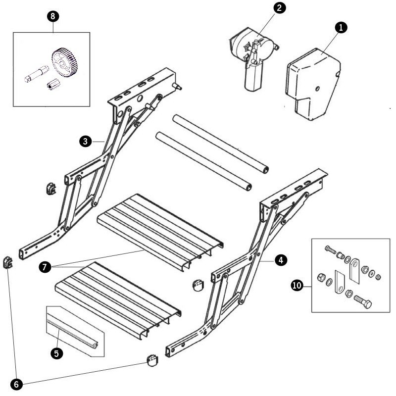 Thule Omni Double Step parts