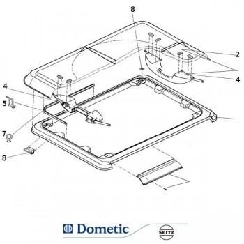 Dometic / Seitz Heki 1 onderdelen