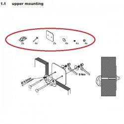 Prostor e-bike lift bovenste montage materiaal