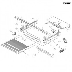 Thule SLIDE-OUT STEP 12V 2016 DUCATO parts
