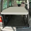 VW T6 / 5 Bike & Surf Maxi-bed, inclusief 10 cm dik matras