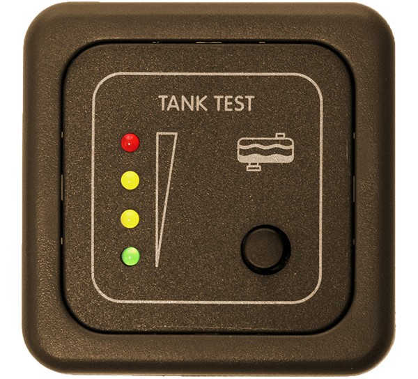 CBE Testpanel MTTR/M bruin afvalwaterniveau-indicator meter Kit