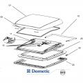 Onderdelen Dometic Mini-Heki plus